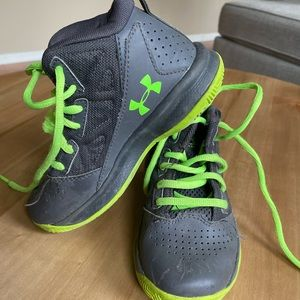 Under Armour Gray Hightop Sneakers 11K